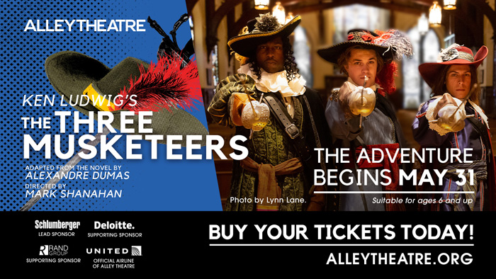 The Three Musketeers at Alley Theatre