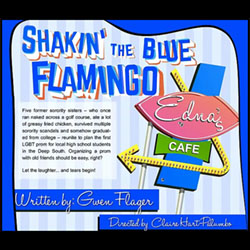 Shakin' the Blue Flamingo