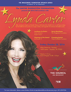 The Council on Recovery Fall Luncheon with Lynda Carter