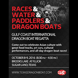 Gulf Coast International Dragon Boat Regatta