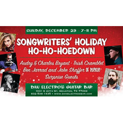 Songwriters Holiday Ho-Ho-Hoedown