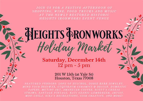 Heights Ironworks Holiday Market