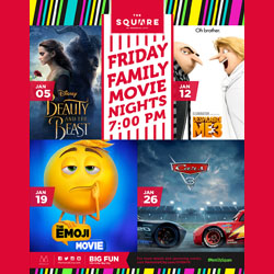 Family Friday Movie Night at The Square