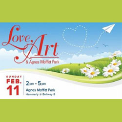 Love, Art, and Agnes Moffitt Park