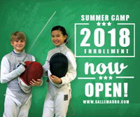 Recreational Fencing Summer Camps