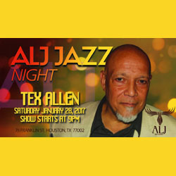 Tex Allen at ALJ Jazz Night